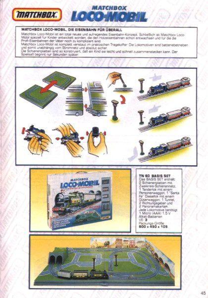 catalogue matchbox 1991 m43