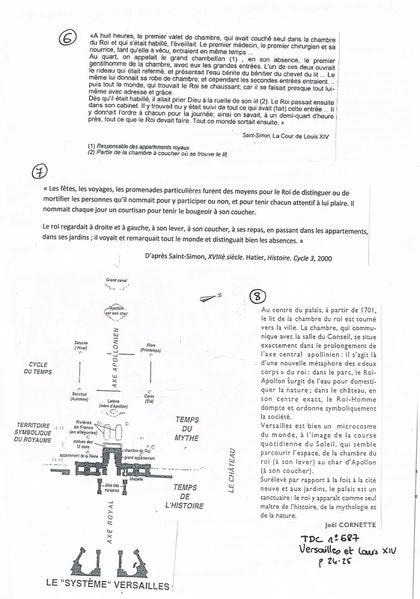 sujet Versailles p2