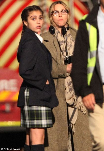 Madonna's daughter Lourdes starring as a schoolgirl in ''W.E.''