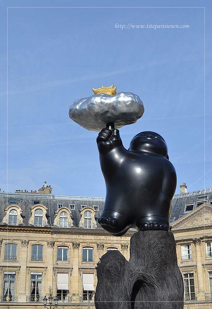 Sculpture Place Vendôme 4