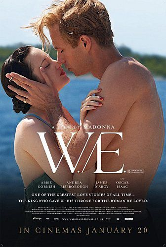 Madonna's ''W.E.'' in cinemas in UK today!