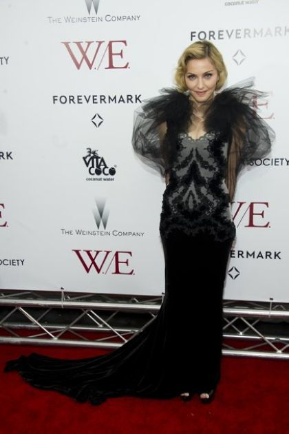 Madonna at US premiere of ''W.E.'' in New York - January 23, 2012