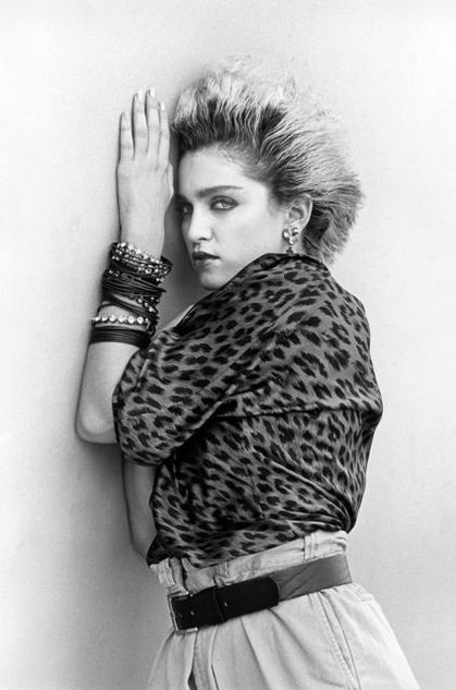 Photo: Madonna by Steven Meisel - 1984