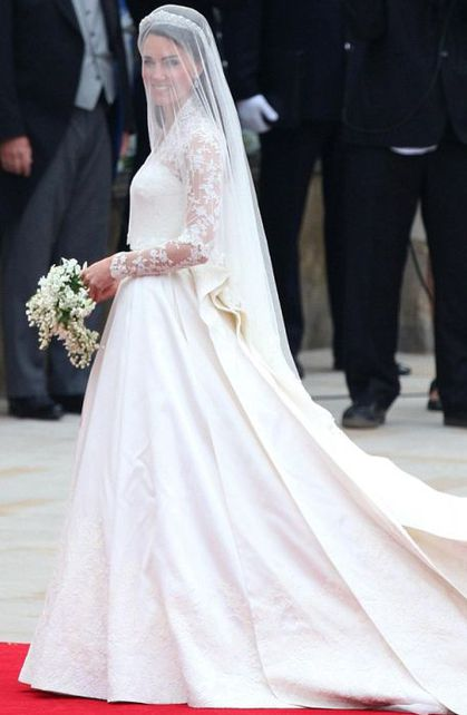 Met Gala 2011: Kate Middleton's royal wedding dress effect