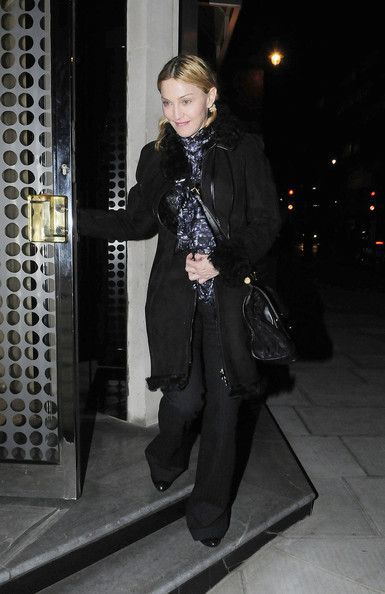 Madonna in London - October 18, 2010