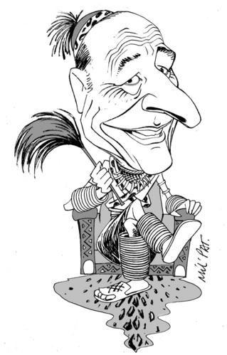 Chirac Roi nègre Mil'Pat Bestiaire www.legrigriinternational.com