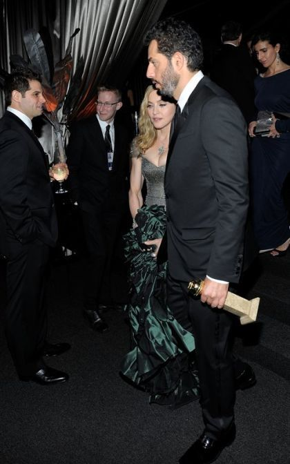 Madonna at the Weinstein Golden Globes Afterparty - January 15, 2012