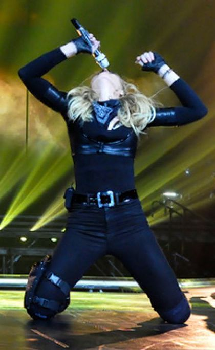 Madonna - MDNA Tour: Photos from dress rehearsals