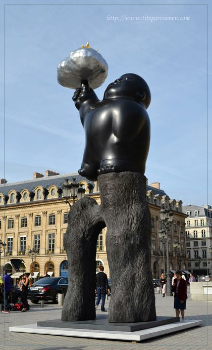 Sculpture Place Vendôme 5