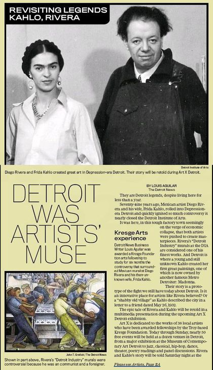 Detroit was Artists' Muse