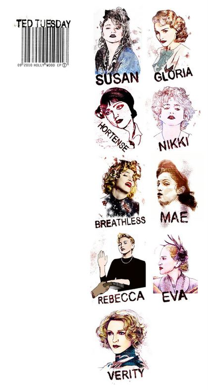 Mr Ted Tuesday's Madonna T-shirt collection launches this week
