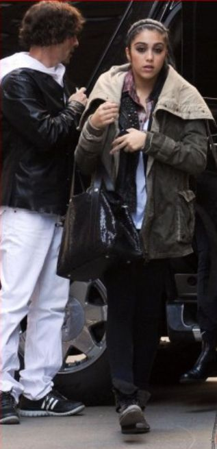 Madonna at the Kabbalah centre in New York - March 26, 2011