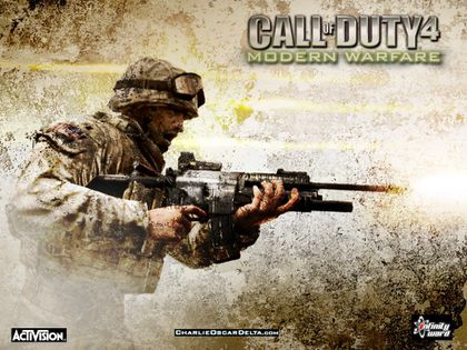 call of duty 2 modern warfare. call of duty 4 modern warfare