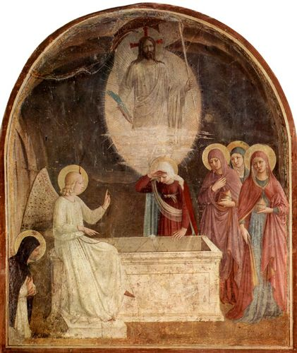 Fra Angelico florence marie et le christ
