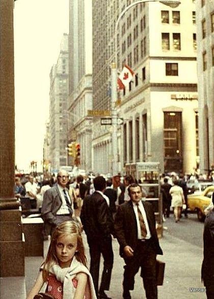 valérie à Wall street 1971