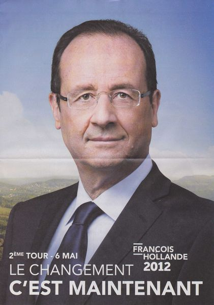 2012 presidentielle Hollande profession foi