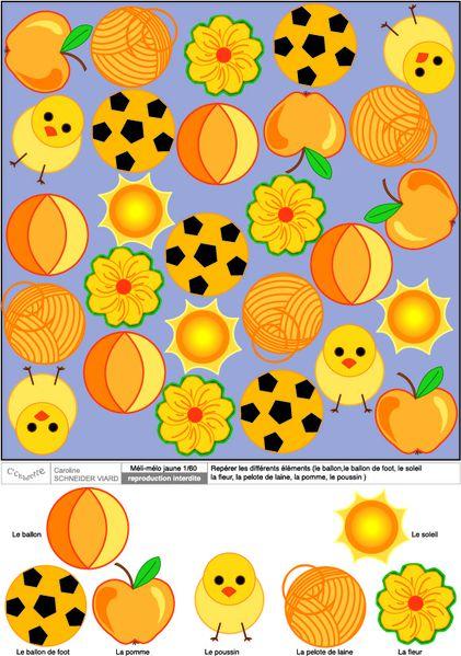 Méli-mélo jaune 1-60 [Converti]