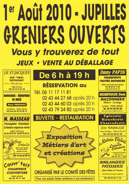 greniers ouverts