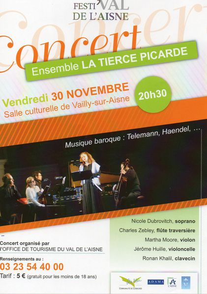 concert des têtes en l'air dec 2012