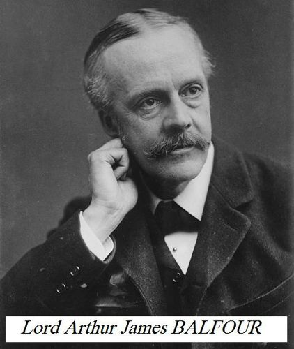 Arthur Balfour, photo portrait facing left