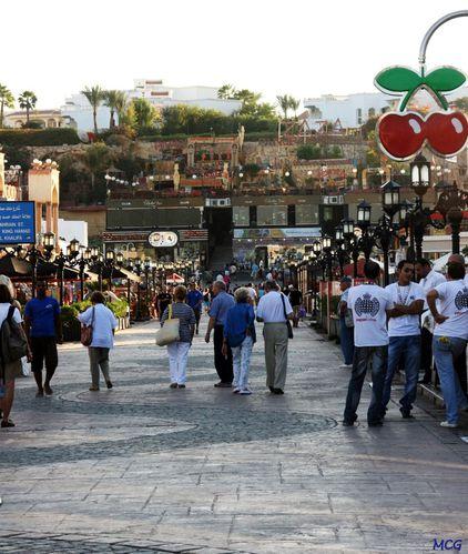 promenade dans Sharm El-Sheikh