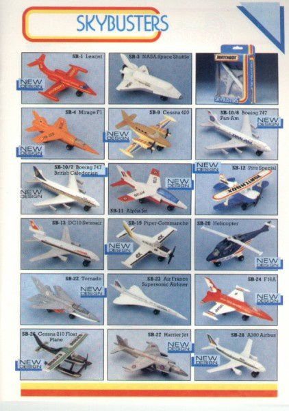 catalogue matchbox 1986 p17