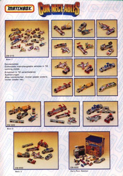 catalogue matchbox annee 1992 s43