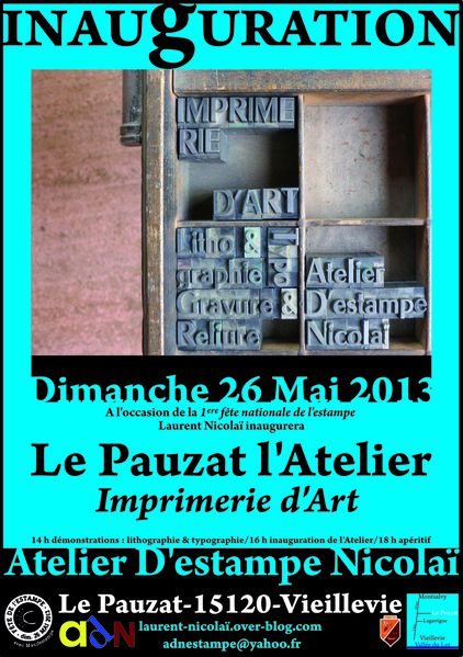 Inauguration affiche