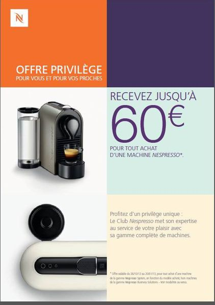 Reduction Nespresso