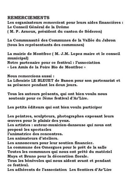 programme B arlire 2013 -5b