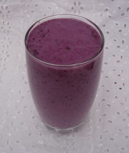 smoothiemyrtilleframboises