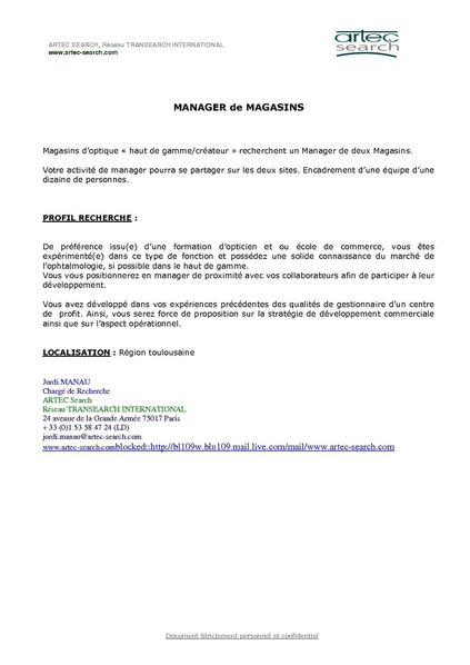 Video emploi adulte
