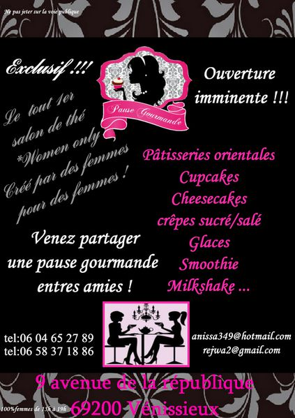 flyer pause gourmande