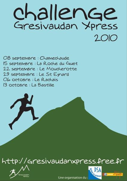 Affiche Gresivaudan Xpress 2010
