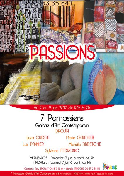 PABE ExpoPassion Affiche