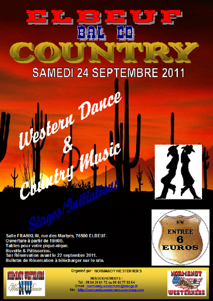 Affiche Soiree MW6 24 sept 2011