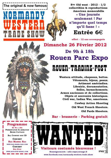 Normandy Western Trade Show Fevrier 2012