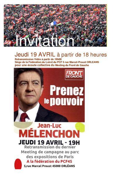 Invitation meeting 19 avril