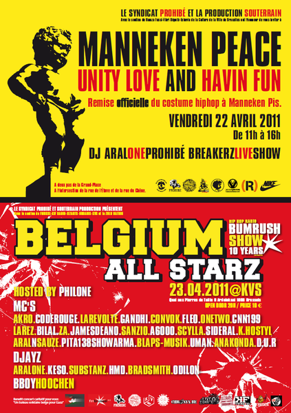 Manneken Peace-Belgium All Starz