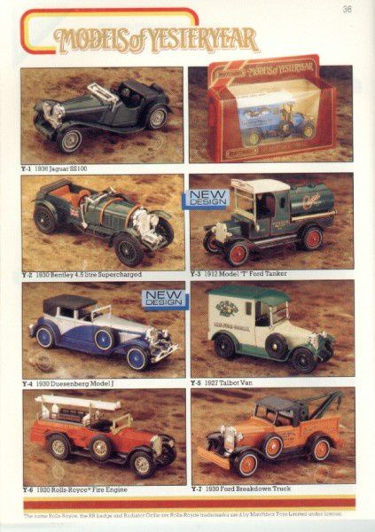 catalogue matchbox 1986 p36 ford breakdown