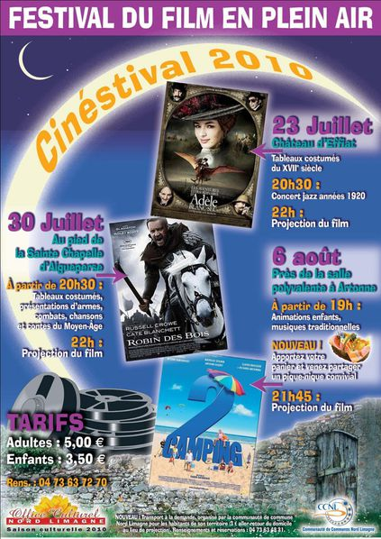 2010 cinestival 3 dates