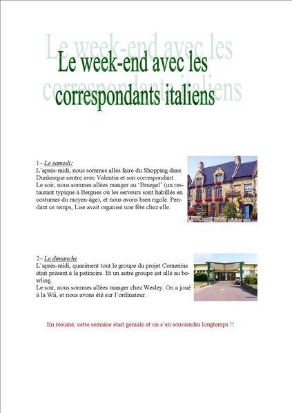 accueil italie bilan2