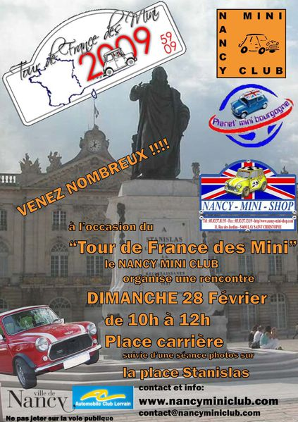 tour de france des mini B