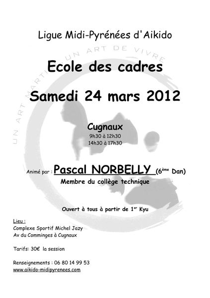 Affiche EDC Norbelly