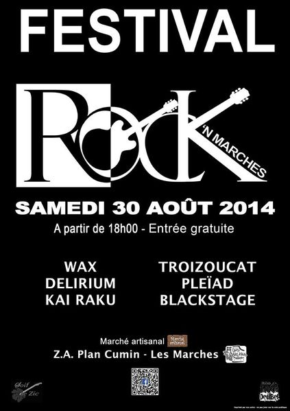 affiche rock'n'marches