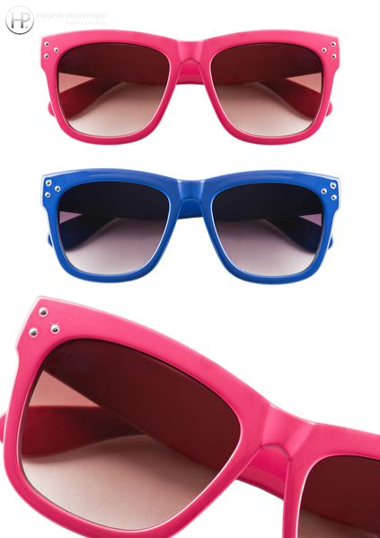 Collection 2012 Lunette de soleil blue and pink by C et A