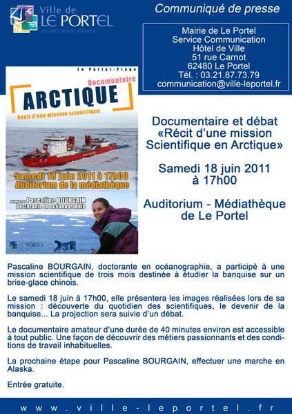 documentaire arctique