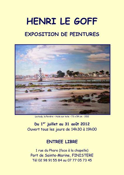 Henri Le Goff affiche exposition 2012 jpg