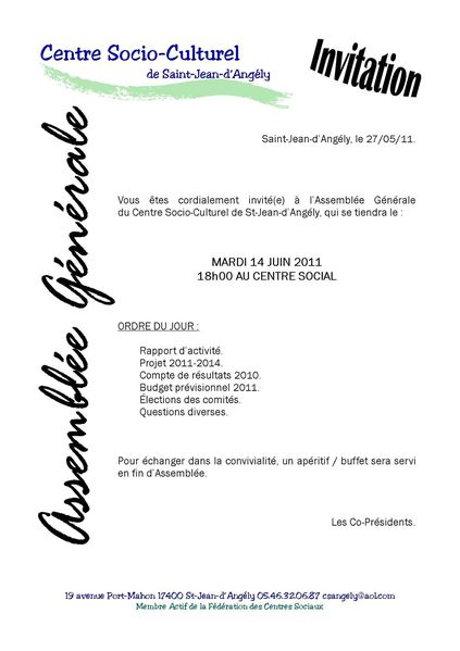 20110614 CSC ANGELY AG2011 INVITATION