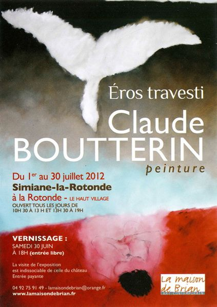 2012-07 Affiche Expo Bouterin